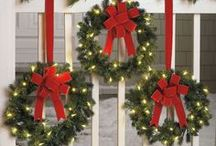Traditional Christmas Wreaths / Traditional Christmas wreaths for the winter season! / by Island Girl Wreaths
