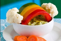 5-a-day fun for kids! / Fun and creative ways to encourage children to eat fruit and veg.  / by Children'sFoodTrust