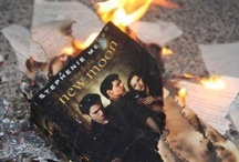 Harry Potter vs. Twilight / Yes, this is all about Harry Potter and, of course, Twilight.  But more about Harry Potter and laughing at Twiglet ... I mean Twilight. / by Jaki Smith