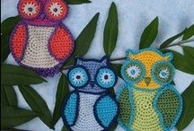 """Crochet - All things """"OWLS"""" / by Rozalyn Boggs"""