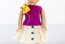DOLL CLOTHES & PATTERNS / by Donna Nichols