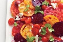 SALADS are your stomachs RAINBOW / by GlutenFreeGal Kirsten Berman