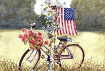 The 4th of July! / by ⓉⒽⒺ ⒼⓇⒺⒺⓃ ⓌⒾⓉⒸⒽ