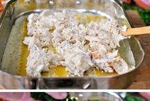 casseroles / by Diane Bacon