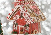 Recipes ~ Gingerbread Houses / by Sally Richards