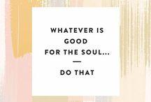 wise words / by Brooke Bittner
