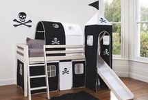 Pirate Bed & Bath ~ for Drew & Trey / Ideas... Drew's Pirate themed Bedroom & Bathroom / by Christine Crawford Smith