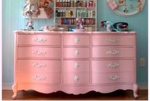 *painted furniture* / by Stacey Sattler