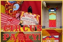 2015 - Vintage Circus Party / by Annamaria Cysneiros
