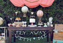 Party Theme - Hot Air Ballon / by Annamaria Cysneiros