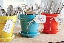 Party Decor - Utensils Solutions / by Annamaria Cysneiros