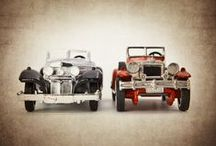 Vintage Car/Truck Room / by Christine Crawford Smith