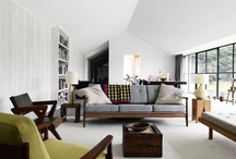 Arch Lgt Int / Maison, Villa, Extension - Vue intérieure / by Corentin Y