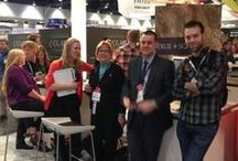 Design & Construction Week 2014 / This board is for our KBtribechat LIVE from the KBIS show floor hosted by Formica Group. Join us in their booth (N1063) on Wednesday, February 5th at 11am show time to share in the fun together on the best of KBIS, IBS and IWCE!  / by kbtribechat