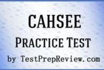 CAHSEE Test Study Resources / A collection of CAHSEE test study aids to help you prepare for the CAHSEE test. Practice questions, flashcards, and a study guide that can help on the test. / by Test Prep Review - Free Practice Tests