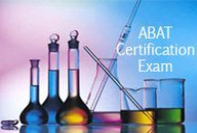 ABAT Certification Exam Study Resources / A collection of ABAT Certification test study aids to help prepare for the ABAT Certification test. Practice questions, flashcards, and a study guide that can help on the test. / by Test Prep Review - Free Practice Tests