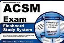 ACSM Certified Clinical Exercise Specialist Test Study Resources / A collection of ACSM Certified Clinical Exercise Specialist test study aids to help you prepare for the ACSM Certified Clinical Exercise Specialist test. Practice questions, flashcards, and a study guide that can help on the test. / by Test Prep Review - Free Practice Tests