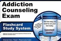 Addiction Counselor Test Study Resources / A collection of Addiction Counselor test study aids to help you prepare for Addiction Counselor test. Practice questions, flashcards, and a study guide that can help on the test. / by Test Prep Review - Free Practice Tests