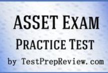 ASSET Test Study Resources / A collection of ASSET test study aids to help you prepare for the ASSET test. Practice questions, flashcards, and a study guide that can help on the test. / by Test Prep Review - Free Practice Tests