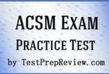 ACSM Personal Trainer Test Study Resources / A collection of ACSM Personal Trainer test study aids to help you prepare for ACSM Personal Trainer test. Practice questions, flashcards, and a study guide that can help on the test. / by Test Prep Review - Free Practice Tests