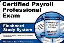 Certified Payroll Professional Test Study Resources / A collection of Certified Payroll Professional test study aids to help you prepare for the Certified Payroll Professional test. Practice questions, flashcards, and a study guide that can help on the test. / by Test Prep Review - Free Practice Tests