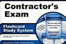 Building Contractor's Exam Study Resources / A collection of Building Contractor's test study aids to help prepare for the Building Contractor's test. Practice questions, flashcards, and a study guide that can help on the test. / by Test Prep Review - Free Practice Tests