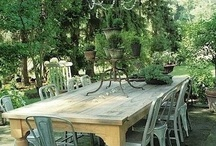 Fijne plekjes in de tuin / by eenentwee