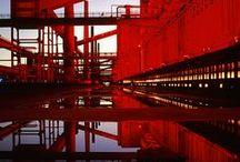 Industrie-Liebe // Industrial / Bau, Werft, Fabrik, Stillgelegtes / by Sonja