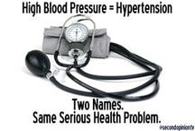 Hypertension / Some call it hypertension. Others know it as high blood pressure. Whichever term you use, it is the same serious health problem. @secondopiniontv / by Second Opinion