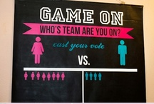 Gender reveal party / by Sheila Johnston
