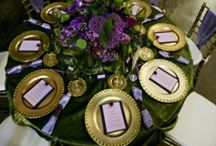 table settings / by St. Augustine Weddings & Special Events