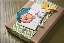 SU Packaging / Stampin Up handmade packaging for every occasion! / by Rose Sewing