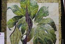 Квилты и арт-текстиль / Работы из интернета, которые привлекли внимание техникой, цветом, образами / by Elena Folomeva