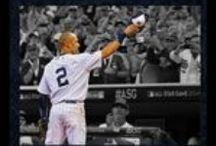 Derek Jeter Signed Memorabilia & Collectibles / New York Yankees clutch player Derek Jeter signed baseballs, home run & 3000th hit photos, game used, jerseys, bats, caps & more! Celebrate his final season at Yankee Stadium from the 14x All Star & 5x World Series Champion! http://www.legendsofthefield.com/Derek-Jeter-Signed-Memorabilia-s/2094.htm / by Legends of the Field Sports Memorabilia