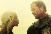Game of Thrones  / It takes your heart and stomps on it.... my poor crushed heart can't take much more / by Monica M
