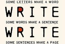 write & then write again / by Andrea Farrell-Finn