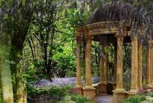 Gardens & Landscapes Side / Beautiful stuff for a beautiful outdoor view. / by Valerie Leslie