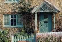 Country Cottages and Manor Houses / Countryside living ..... Primarily English and French cottages  / by Mary Walker Eanes
