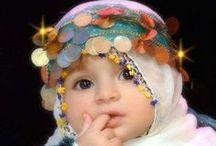 Kids Hijab / Cute and beautiful kids hijab styles & Children hijab designs. / by Hijab Styles