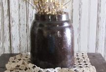 My primitive* farmhouse style! / by Cindy Walker