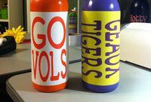 Bottles, Jars, Mugs, Wine glasses / by Kim Hughes