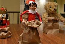 Elf on the Shelf Shenanigans / by Christina Smiley