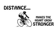Fitness / Riding longer, farther, faster.  Interval training, hills, distance. / by Eric Conrad