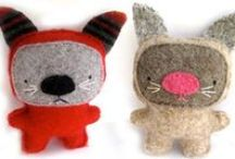 CRAFT ~ Softies I / Cute animal softies; / by Jeannie