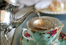☕️ Karen's Tea Shop ☕️ / Tea Services, Cups and Saucer Sets, China, and Tea Fare are Featured  / by Karen Scott