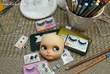 OOAK Madness - WIP (Custom Blythe) / Blythe doll work in process (WIP) images and tutorials / by OOAK Angel