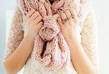 knitting & sewing / by Sarah Arkanoff