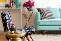 Color + Pattern Inspiration / by Domestic Fashionista