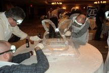 Ice Sculpting / Teams are given the chance to find their creative side when they are challenged to create the best ice sculpture. / by WCF Corporate Events
