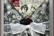 VERY VALENTINES  / This is a collection of projects by Gecko Galz design team using Basic Grey and Gecko Galz products. / by Gecko Galz